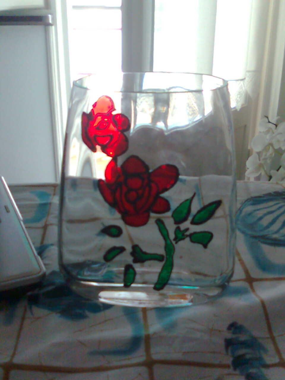 Pittura su vetro un blog senza nome for Immagini da dipingere su vetro