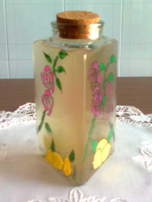 acqua aromatica alla rosa e limone